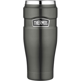 Thermos King Drinkfles 470ml grijs/zilver